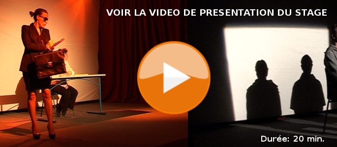 video presentation stage theatre employabilite